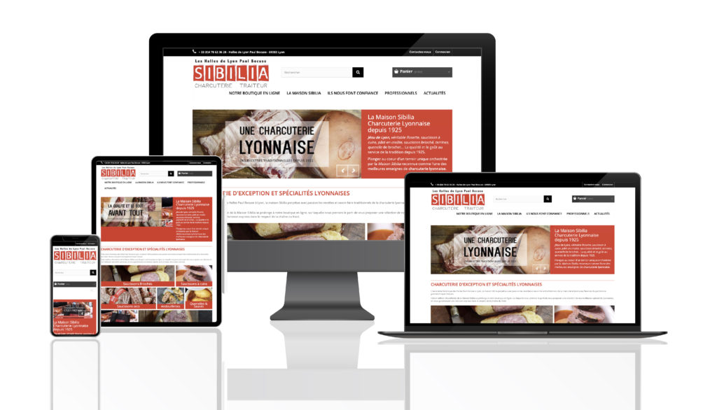 Site E-Commerce Charcuterie